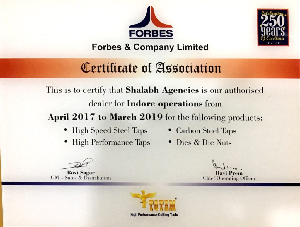 FORBES & Co Ltd