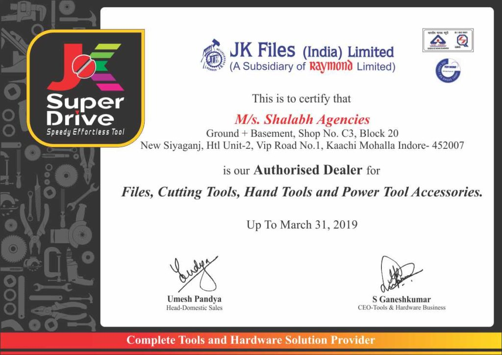 JK Files (India) Ltd
