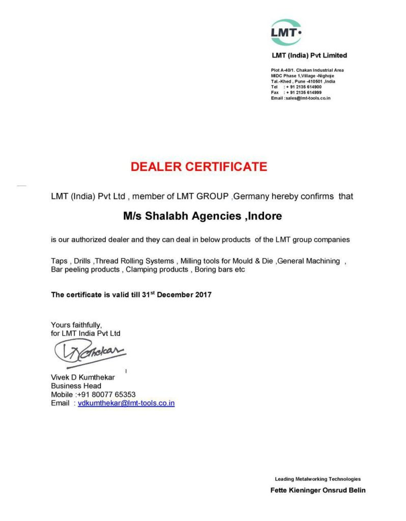 LMT (India) Pvt Ltd